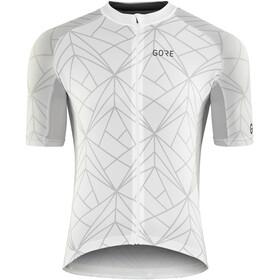 GORE WEAR C3 Fietsshirt korte mouwen Heren grijs/wit